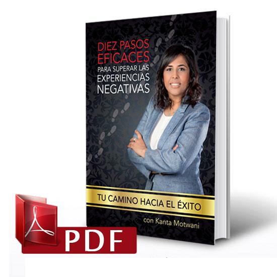 """Libro""""Diez pasos eficaces para superar las experiencias negativas"""" de kanta Motwani"""