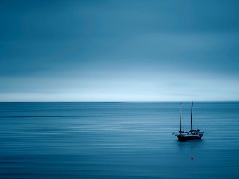 Mar en calma, vida sin estrés