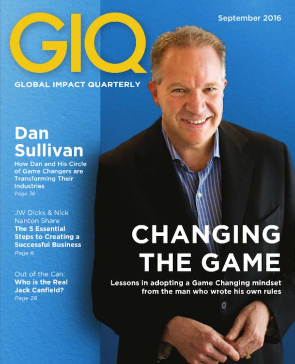 Revista GIQ Magazine de septiembre con entrevista a Kanta Motwani